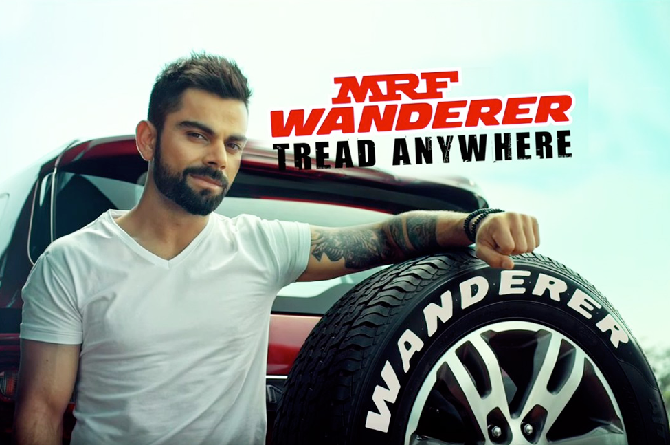 Charismatic Indian cricketer Virat Kohli is a prolific endorser. As of March 2016, he was spokesperson for 13 brands such as MRF, Pepsi, Adidas, Audi, Oakley and Nestlé.