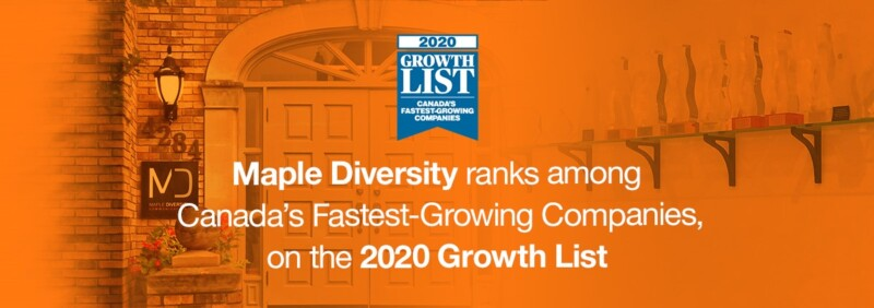 Maple Diversity ranks among Canada's Fastest-Growing Companies 2020