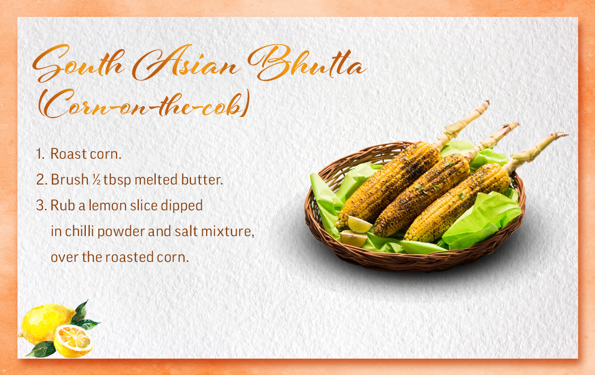 South Asian-Bhutta-Corn-on-the-cob