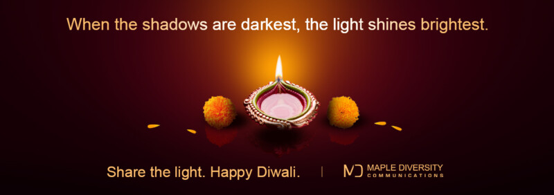 Share The Light. Happy Diwali.